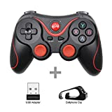 T3 X3 Wireless Bluetooth Gamepad For Ios Android Mobile Phone Joystick Controller Game Handle For Tablet Tv Box Holder Blackwithall