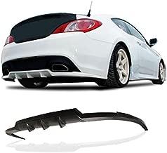 PULIps HYGE10ATWRAD - Walker Style Rear Bumper Lip For Hyundai Genesis Coupe 2010-2016