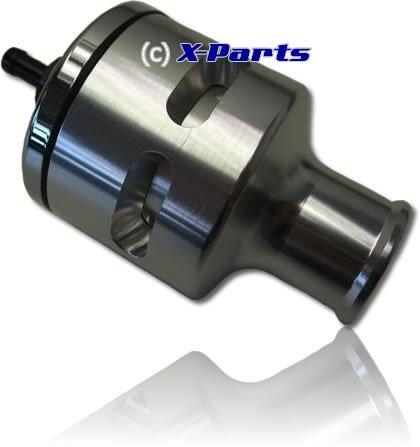 Pop Blow Off Ventil DV26 Silber 1.8T 1.4Tjet 2.7T 25mm Anschluss Selbstregulierend bis ca. 4,2 bar