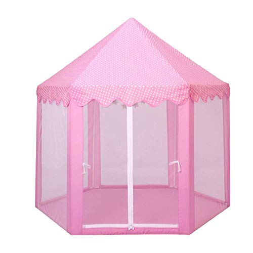GJQDDP Tent for Kids, Foldable Children Play Tent Castle Tents Portable Boys Children's Tent Indoor Boy Sleepable Home Girl Tent Princess Indoor Fantasy Wall