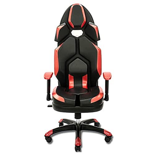 LORYLOLY Spielstuhl, Computerstuhl Bürostuhl Drehbarer Ledertisch Stuhl Ergonomische Liege
