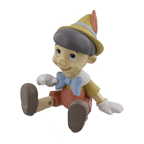 """Disney Magical MomentsPinocchio-Figur, als Andenken geeignet, """"Make a Wish"""", 8 cm"""