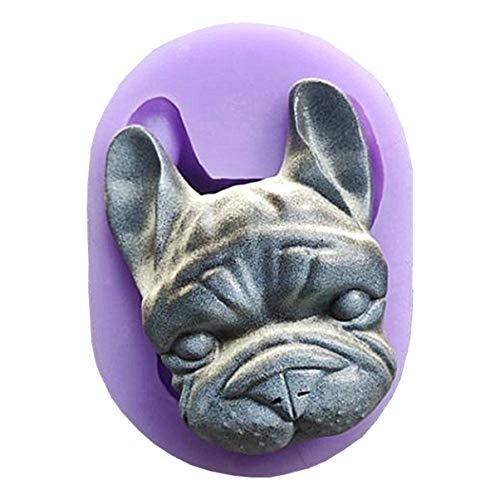 Dog head molds,Dog Fondant Cake Decorating Tools Chocolate Candy Mold Pudding Jelly MoldHandmade Jewelry Molds