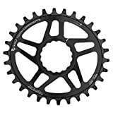 Wolf Tooth Oval Boost Race Face Plato Bicicleta, Negro, 30