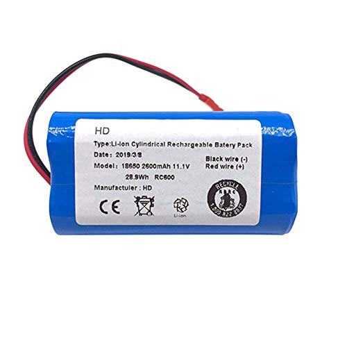 Cikuso Piezas de Repuesto de Batería de Iones de Litio para Ilife X3 V3 V5 V5 V5S V5S Cw310 V7 Deebot Cen250 11.1 V 2600 Mah