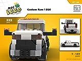 Custom Ram 1500 (Instruction Only): MOC LEGO