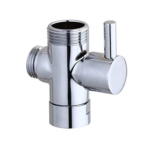 DOITOOL brazo de ducha válvula desviadora 3 vías universal cuarto de baño sistema de ducha reemplazo para cabezal de ducha de mano