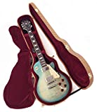 Douglas EGC-400LP Tweed/Burgundy Premium Case for Gibson & Epiphone Les Paul Guitar