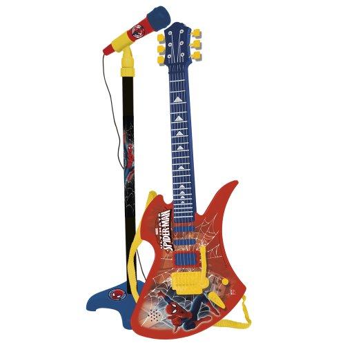 Reig/spiderman - 564 - Guitare Et Micro sur Pied - Spiderman