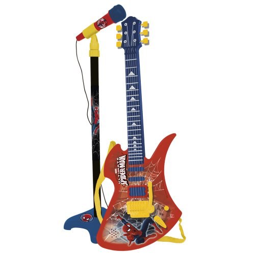Reig/spiderman - 564 - Guitare Et Micro sur Pied - Spiderman