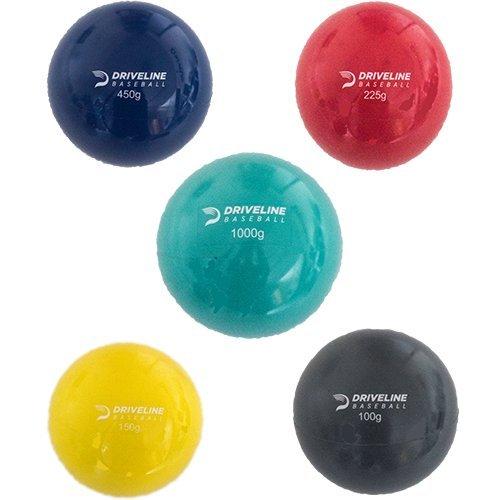 Driveline PlyoCare Balls: Youth 9-13, Set of 5