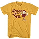 Dodgeball: A True Underdog Story Comedy Movie Average Joes Gym Muscles T-Shirt Orange