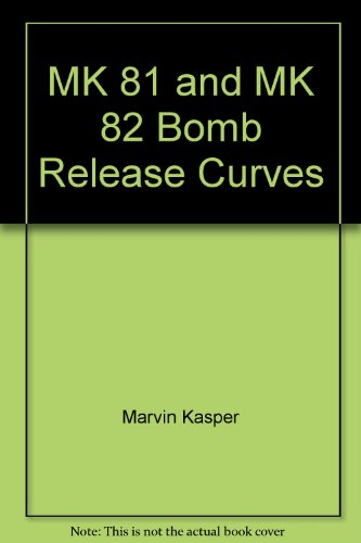 MK 81 and MK 82 Bomb Release Curves