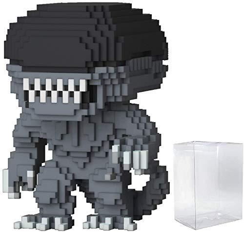 Funko 8-Bit Pop! Horror: Alien - Xenomorph Vinyl Figure (Includes Compatible Pop Box Protector Case)