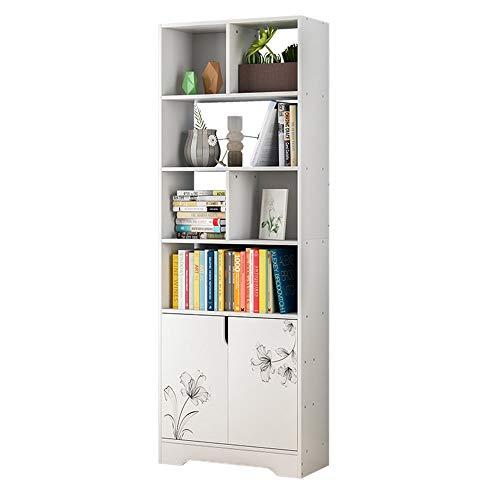 Kattentoilet Moderne minimalistische stijl massief houten planken vloer slaapkamer sloten vrijstaande CD-houder opslagbox Home Office ruimtebesparende multifunctionele boekenkast woonkamer collectie