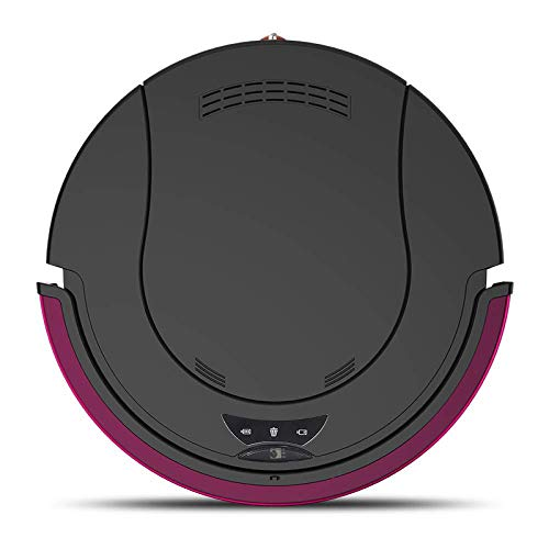 GNLIAN HUAHUA Vacuumas de Mano Robot de Limpieza Inteligente Completo de Carga automático Barrido Robot Home Ultrafino Aspirador silencioso, de Color Rojo (Color: Rojo)