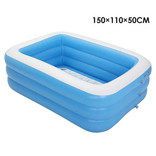 Duoying piscina inflable para niños, adultos, bebés, niños, al aire libre, jardín, patio trasero