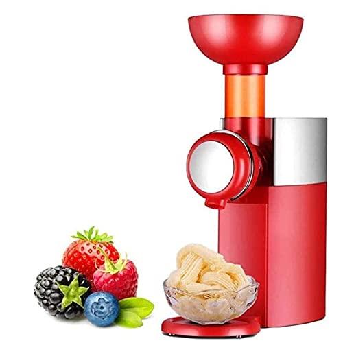 Maquina para Hacer Nieve y Helados en Casa Mini máquina de gelato de postre de yogurt congelado, fácil de limpiar con anti deslizamiento inferior, para postres caseros, suave saludable Fácil de operar