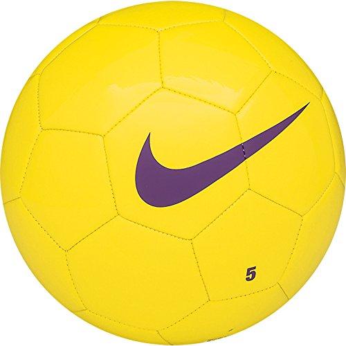 NIKE Team Training Balón, Unisex Adulto, Amarillo/Morado (Yellow/Yellow/Purple), 3