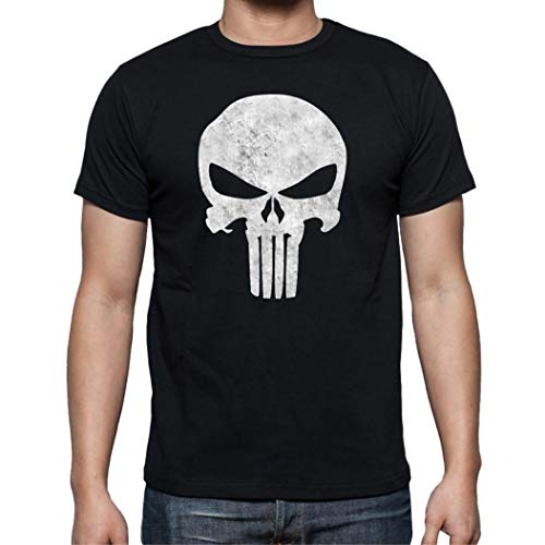 The Fan Tee Camiseta de Hombre Punisher Castigador Comic 003 XXL