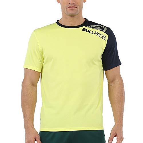 Bullpadel Camiseta UNUT 971 Amarillo Fluor