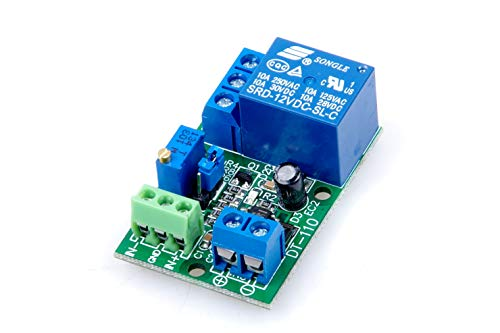 1-Channel 12V Voltage Comparator Module LM393 Voltage Comparator IC for Automotive Circuit Modification Industrial Equipment Circuit Application Testing
