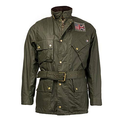 Barbour International Steve Mcqueen Joshua Wax Jacket Archive Olive-L