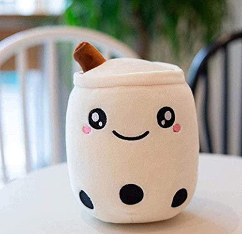 NC196 Plush Toy Doll Big Cartoon Bubble Tea Cup Shaped Stuffed Sweet Back Fun Food Softs for Girls Gift 35Cm
