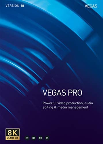 Top New VEGAS Pro 18 – Video Production, Audio Editing and Media Management [PC Download]