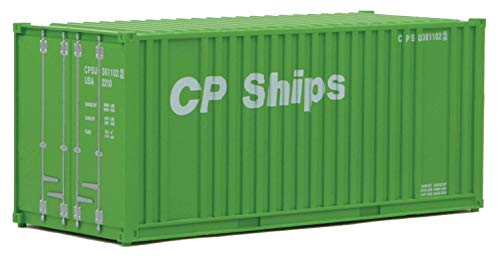 Walthers SceneMaster HO Scale Model of Cp Ships (Green, White) 20