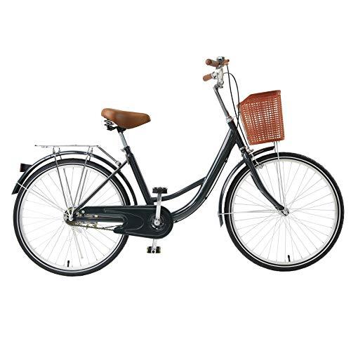 Viribus 24' Wheels Cruiser Bike, Single Speed Beach Comfortable...