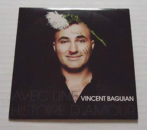 Vincent BAGUIAN - Avec Une Histoire d\'Amour - 1-trk - cds - PROMOTIONAL ITEM