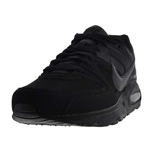 Nike Air Max Command Leather Scarpe da ginnastica, Uomo, Nero (Black/Black Anthracite), 47 1/2