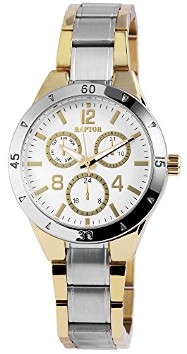 Raptor Damen-Uhr mit Edelstahl Armband Analoganzeige Quarz RA10059