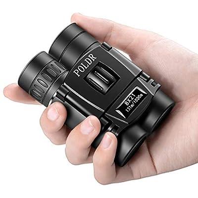 Compact Lightweight 8x21 Binoculars for Adults Kids Travel Bird Watching Theater