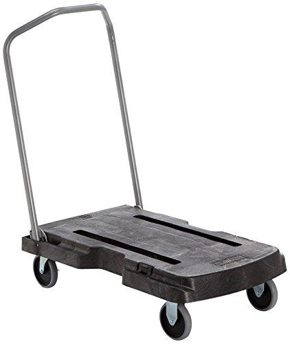 Rubbermaid Commercial Products Chariot de transport triple Noir