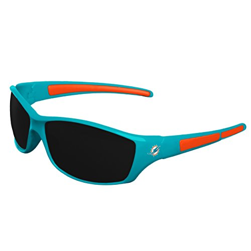 NFL Miami Dolphins Sports Fan Sunglasses, Team Color, One Size