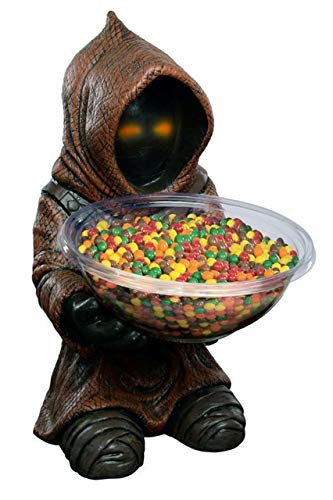 Rubie's H841785 Star Wars Candy Bowl Holder Jawa, Mehrfarbig