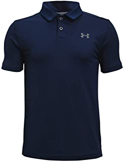 Under Armour UA Performance Polo, Polo manches courtes pratique, T-shirt de sport confortable pour garçons Garçon