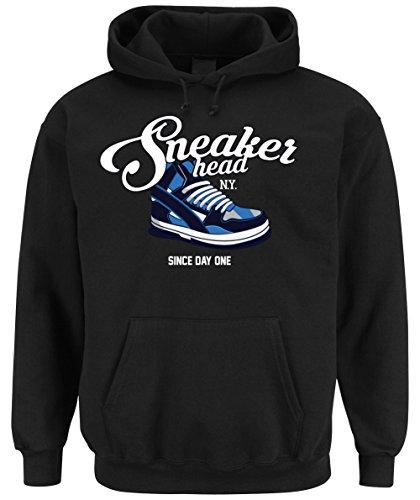 Certified Freak Sneaker Head Hooded-Sweater Black XL