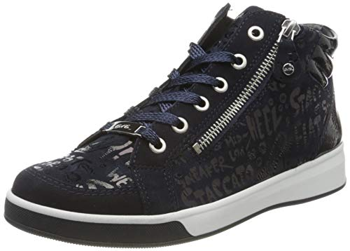 ara Damen ROM Hohe Sneaker, Blau, Navy 05, 41 EU(7 UK)