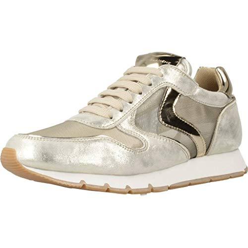 VOILE BLANCHE Damen Sneaker Julia Mesh Gold (35) 39