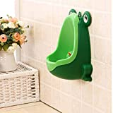 Oulensy Comcl Frosch Kinder Potty Toilet Training Kid Pissoir für Boy Pee Trainer Badezimmer Grün