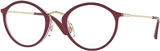 Vogue VO5286 Eyeglass Frames 2756-49 - Top Cyclamen/Transp VO5286-2756-49