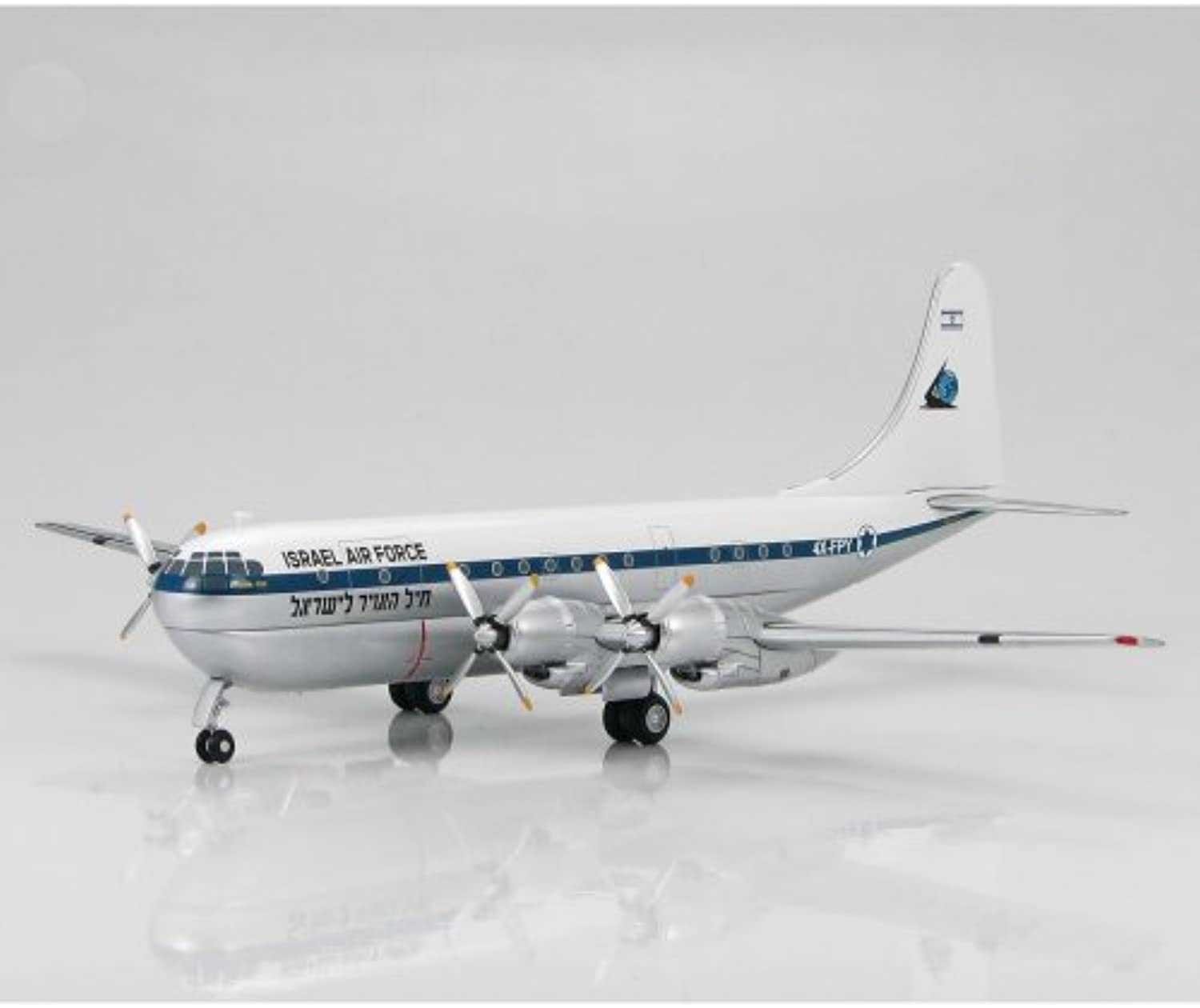 HOBBY MASTER 1 200 B-377 Stratford cruiser Israel Air Force (japan import)