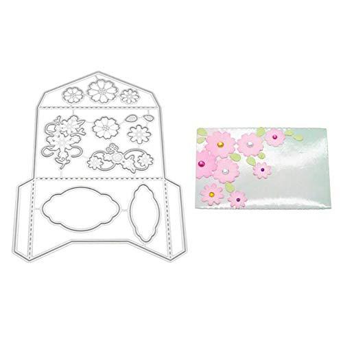 TankMR Uitnodiging Envelop Metaal snijden Dies Embossing sjabloon sjabloon voor DIY Scrapbook Album Papier Kaart Craft Decoratie
