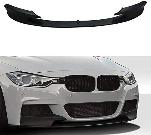 JENCH Front Matte Blk Bumper Lip 67% OFF of fixed price Style low-pricing Splitter Chin M Compatibl