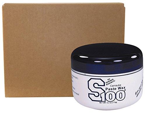 S100 13700W-12PK-12PK Carnauba Paste Wax Tub - 6.2 oz., (Pack of 12)