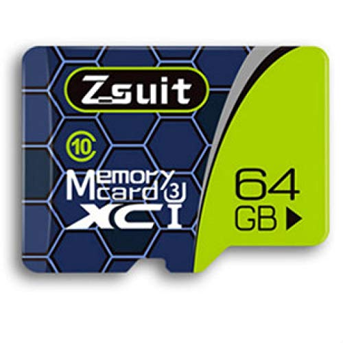 Micro SDHC Class 10 high-speed memory card suitable for mobile phones, tablets and PCs 64GB