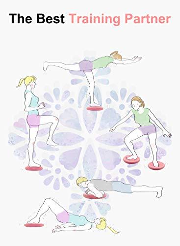Tumazぐらつきクッション-座っている姿勢と注意力を向上させるためのウィグルシートバランスディスク理学療法背中の痛み体幹強化子供と大人用[極厚、ポンプ付属]